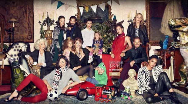 Cora Emmanuel - H&M Holiday.