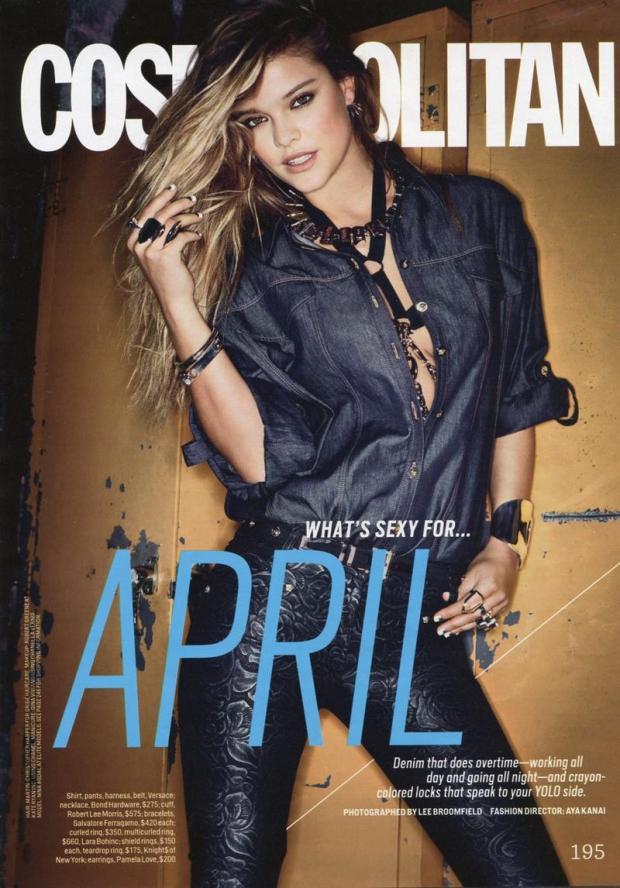 Nina Agdal - Cosmopolitan