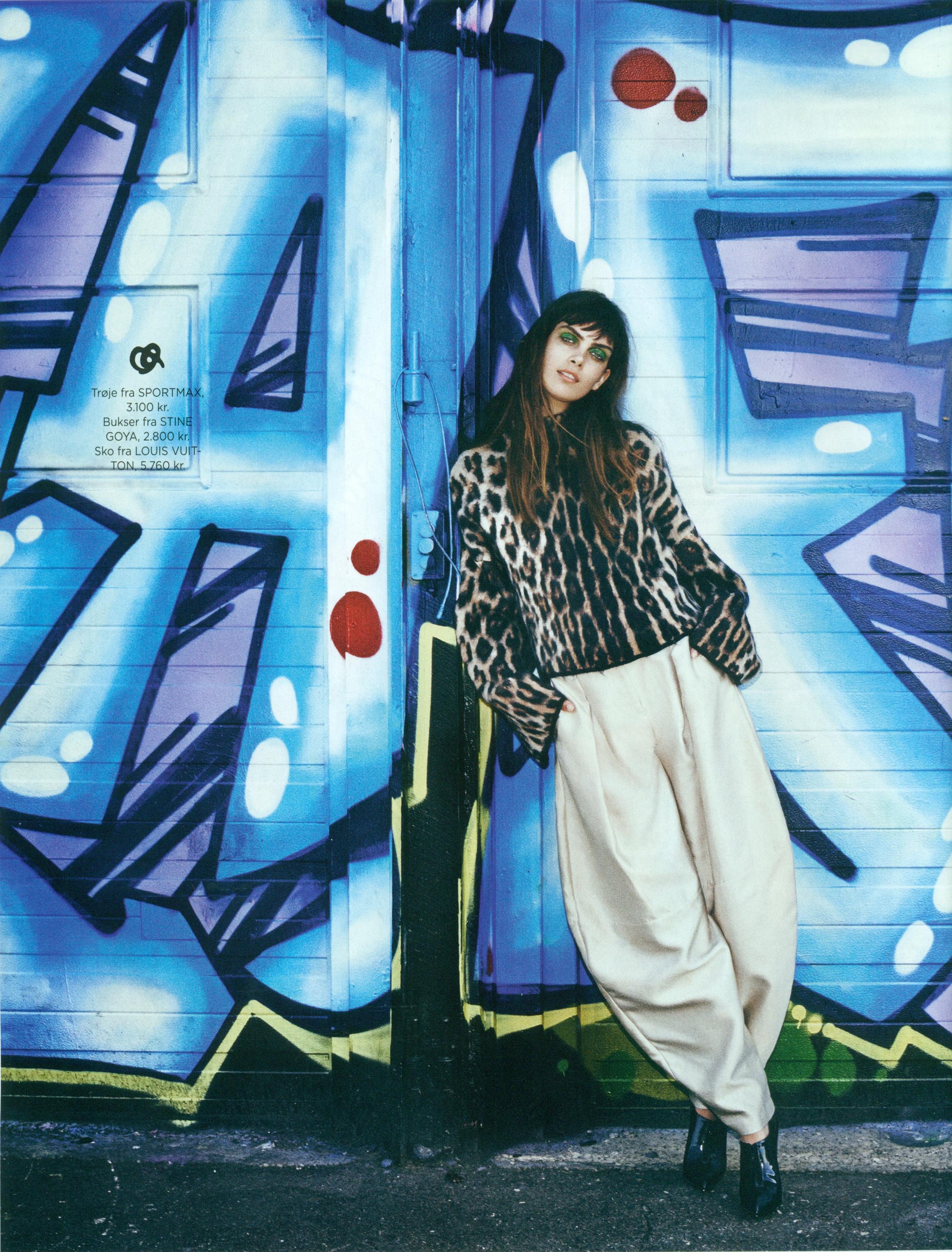 Maria Palm for Eurowoman July 2014 | EliteModelCopenhagen