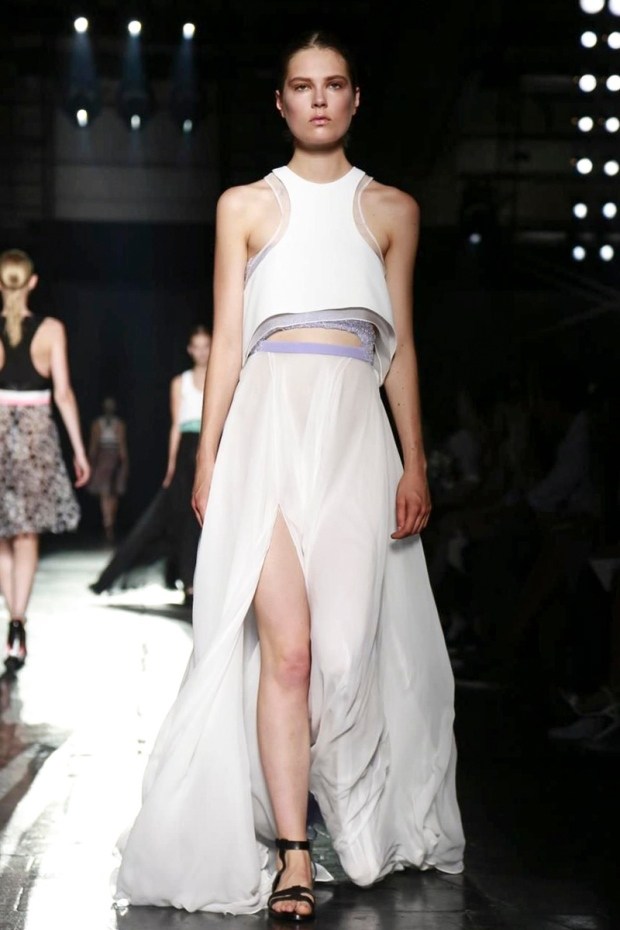 Caroline Brasch Nielsen At New York Fashion Week S/S 2015