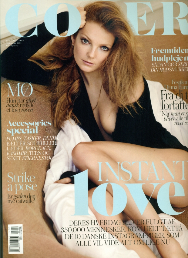 Eniko On The Cover Of Cover Magazine