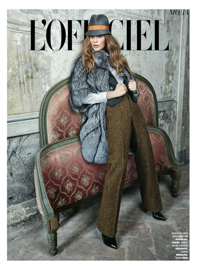 L`Officiel Russia Nov Issue 1