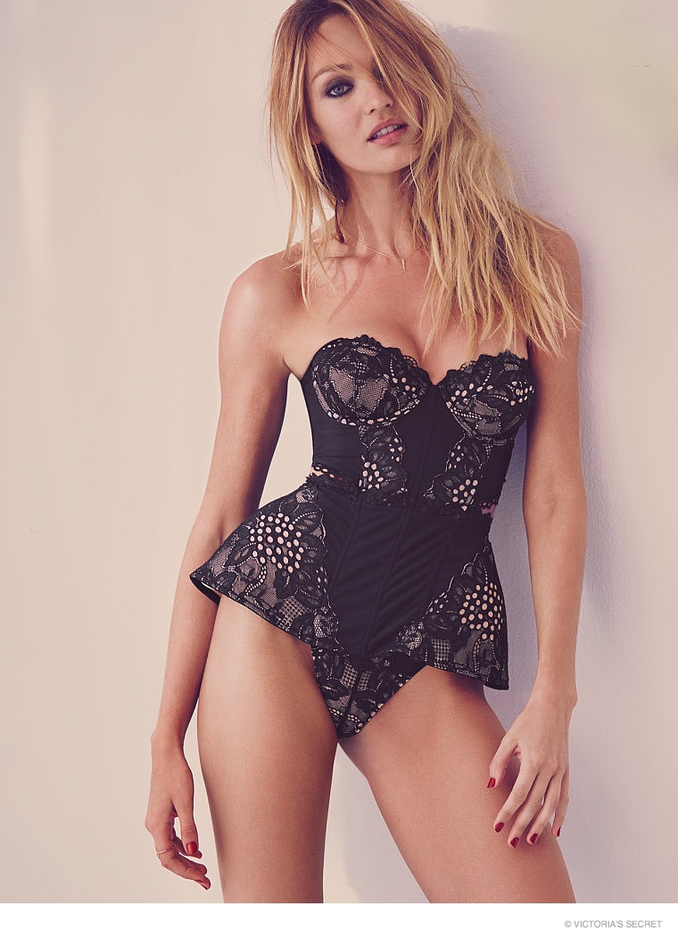 Candice Swanepoel for Victoria's Secret Valentines Day ...