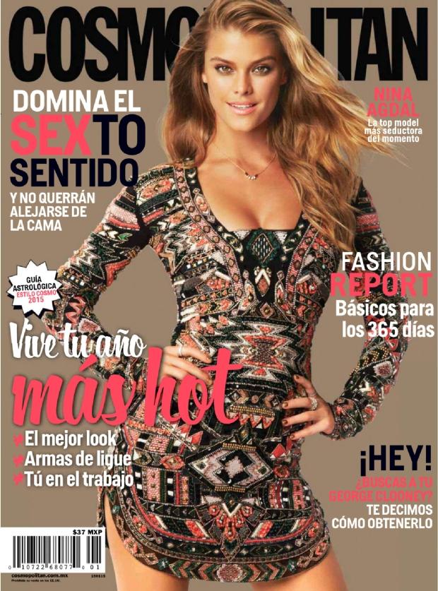 Nina Agdal - Cosmopolitan Mexico January 2015
