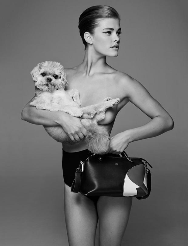 Nina Agdal - CR Fashion Book F/W 2015